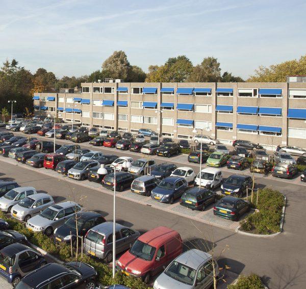 P+R terrein + parkeerplaats Bedrijvencentrum Haren